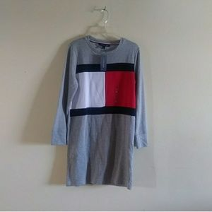 Tommy Hilfiger Flag Logo Sweatshirt Dress